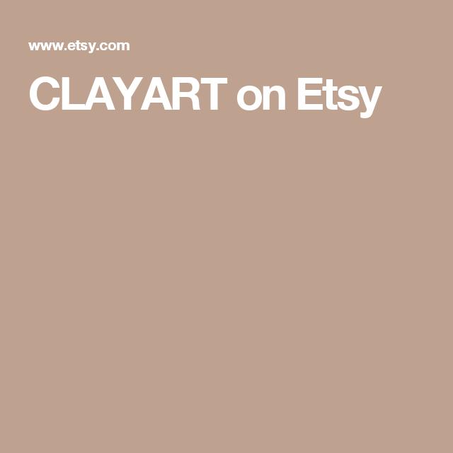 CLAYART on Etsy