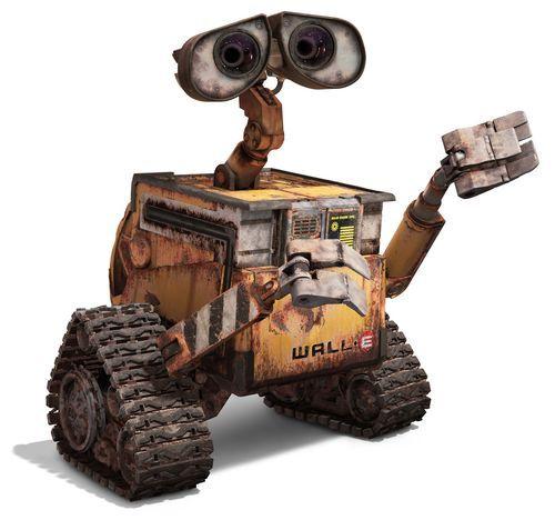 Wally the robot google search robot