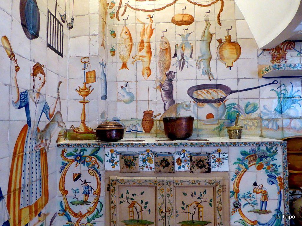 Cocina Senorial Valenciana De Finales Del Siglo Xviii Decoracion