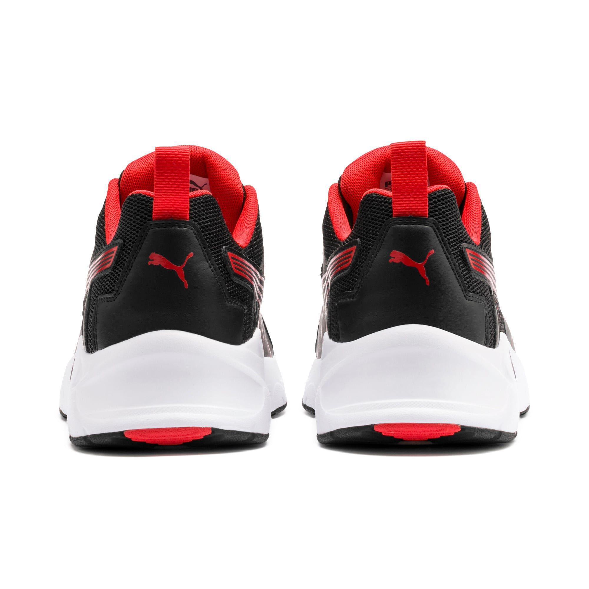 PUMA Chaussure pour l'entraînement Nucleus Run, NoirRouge