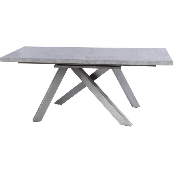 Clower Extendable Concrete Top Dining Table Reviews AllModern - Extendable concrete dining table