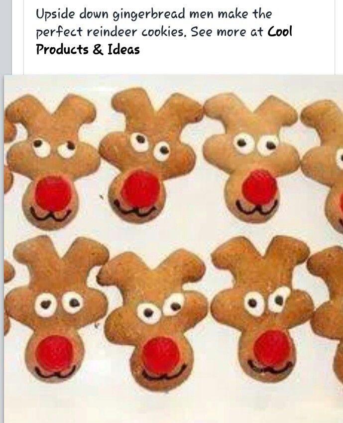Reindeer Cookies... Cute!!