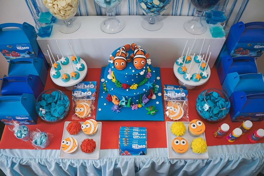 Nemo Birthday Party Ideas In 2019 2nd Birthday Party