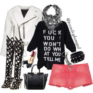 Rocker Glam Gal Outfit