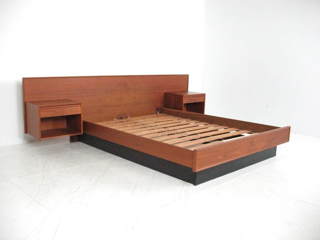 Bed Frame With Storage Bedroom Elegant Bed Design With Cozy Queen Size Platform Bed