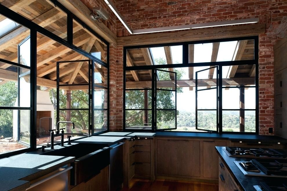 Large Awning Windows Large Casement Window Problems Industrial Kitchen Design Industrial House Industrial Style Bedroom