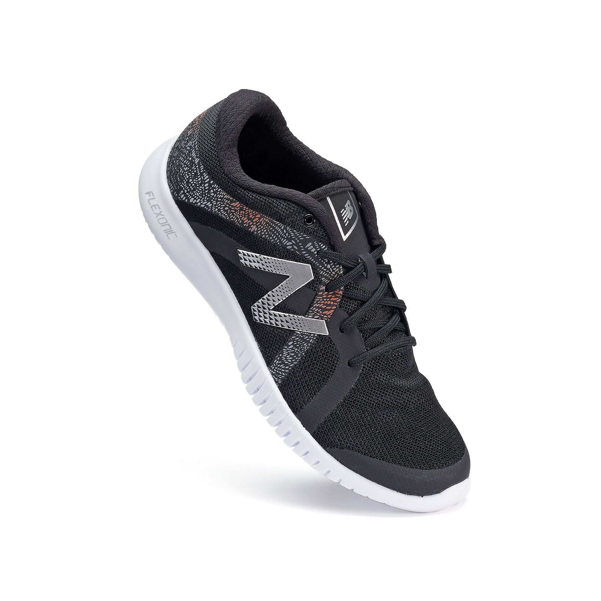 Comfort New Balance 615 Flexonic Womens CrossTraining Shoes Black