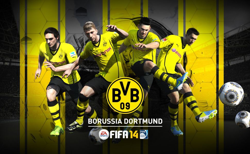 Borussia dortmund fifa 14 hd wallpaper wallpapers pinterest borussia dortmund fifa 14 hd wallpaper voltagebd Choice Image