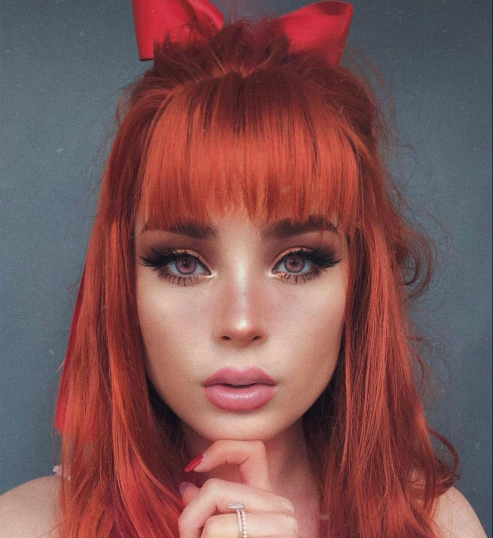 Details About Fashion Glueless Copper Red Long Natural Wavy Free Part Lace Front Wigs In 2020 Hair Inspo Color Hair Pieces Hair Styles