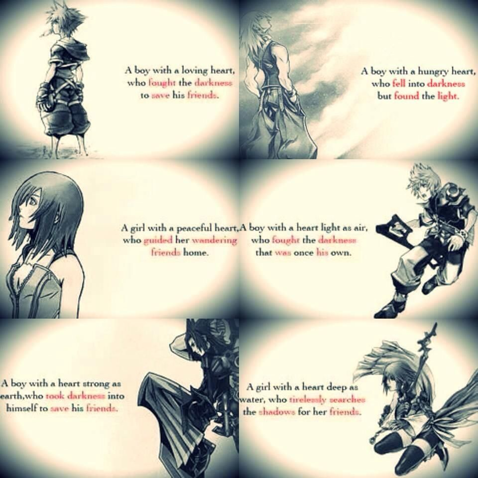 Kingdom Hearts Quotes Quotes  Kingdom Hearts  Pinterest  Anime And Video Games