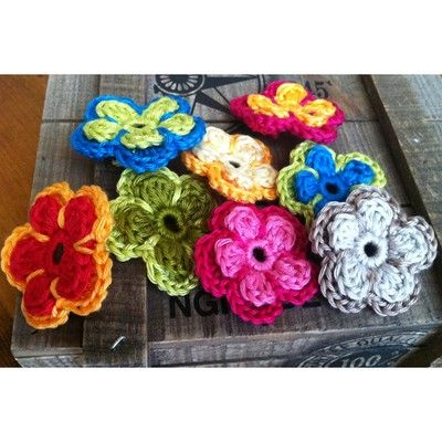 Pin von Bianca T. auf häkeln BLUMEN etc 2 .... | Pinterest | Blumen ...