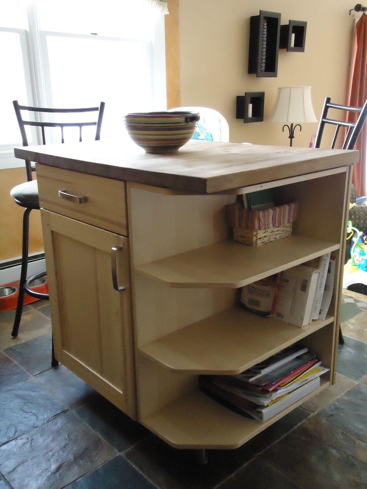 A DIY kitchen island using Ikea parts. | Ikea kitchen ...