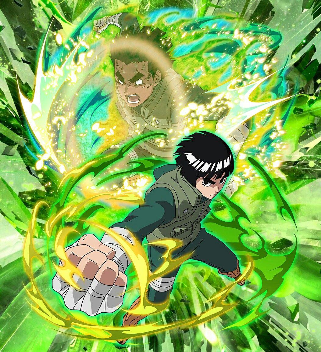 Rock Lee Naruto mangá, Quadrinhos do naruto e Anime