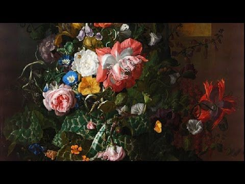 A flower painting, c.1680s, by Rachel Ruysch
