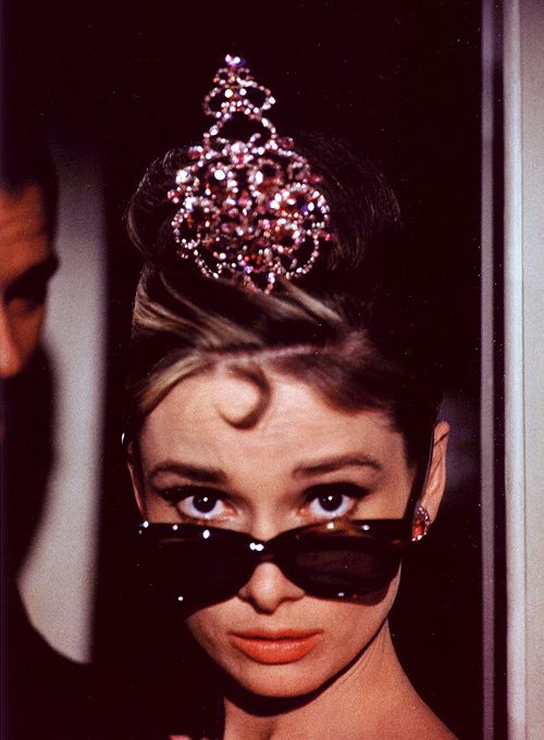Audrey Hepburn on the set of 'Breakfast at Tiffany's' photographed by Howell Conant, 1961.