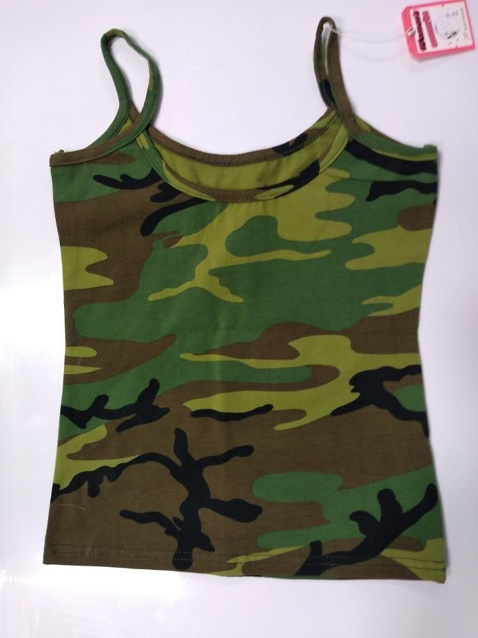 19bcc3c48d495 Rothco 4476 Women's Woodland Camo Tank Top Size Small New With Tags  #fashion #clothing #shoes #accessories #womensclothing #tops (ebay link)
