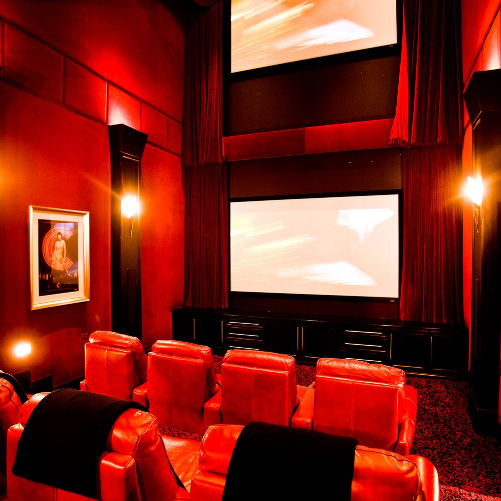 floyd mayweather bi level theater movie theatre mix