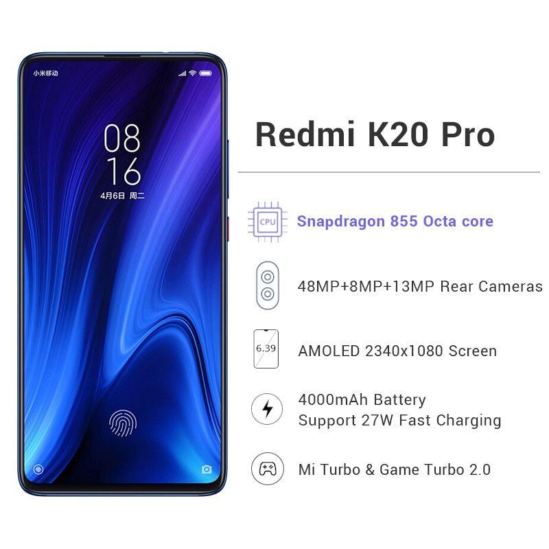 Global Rom Xiaomi Redmi K20 Pro 6GB in 2020 Latest