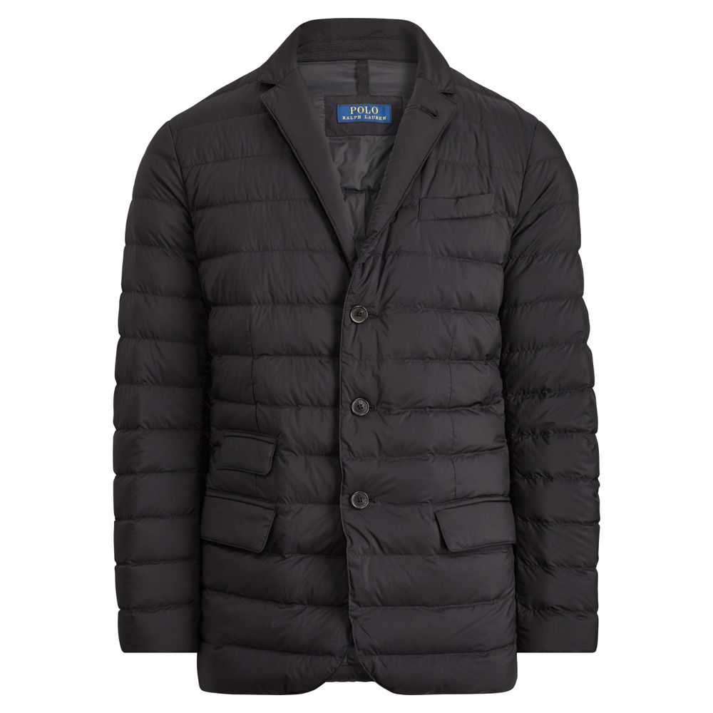 Details about Ralph Lauren Polo Black Quilted Packable 750
