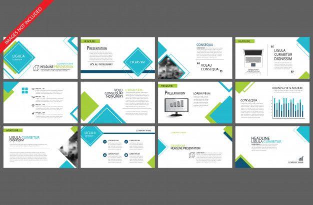 Blue Template For Powerpoint Slide Prese Free Vector Freepik Freevector Freebackground Freeinfographi Powerpoint Templates Powerpoint Powerpoint Slide