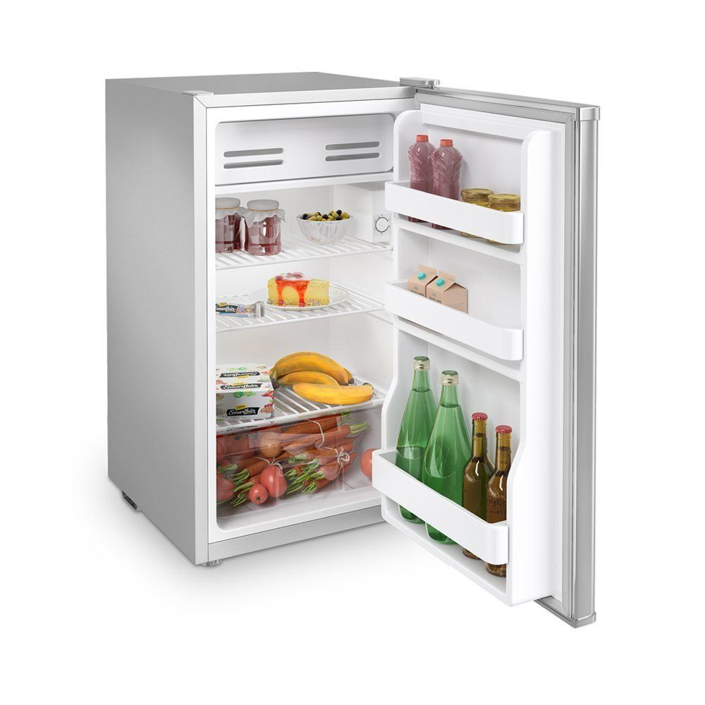 Inventor A++ 93L Kompakter Luxus Mini-Kühlschrank Silber | Inventor ...