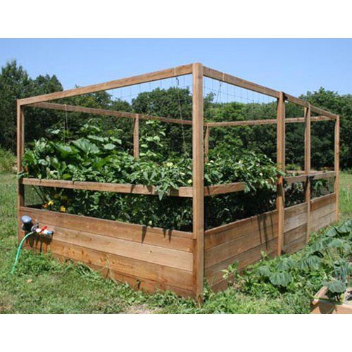 Deer Proof Vegetable Garden Ideas have to have it. gardens to gro 8 x 12 ft. deer-proof vegetable