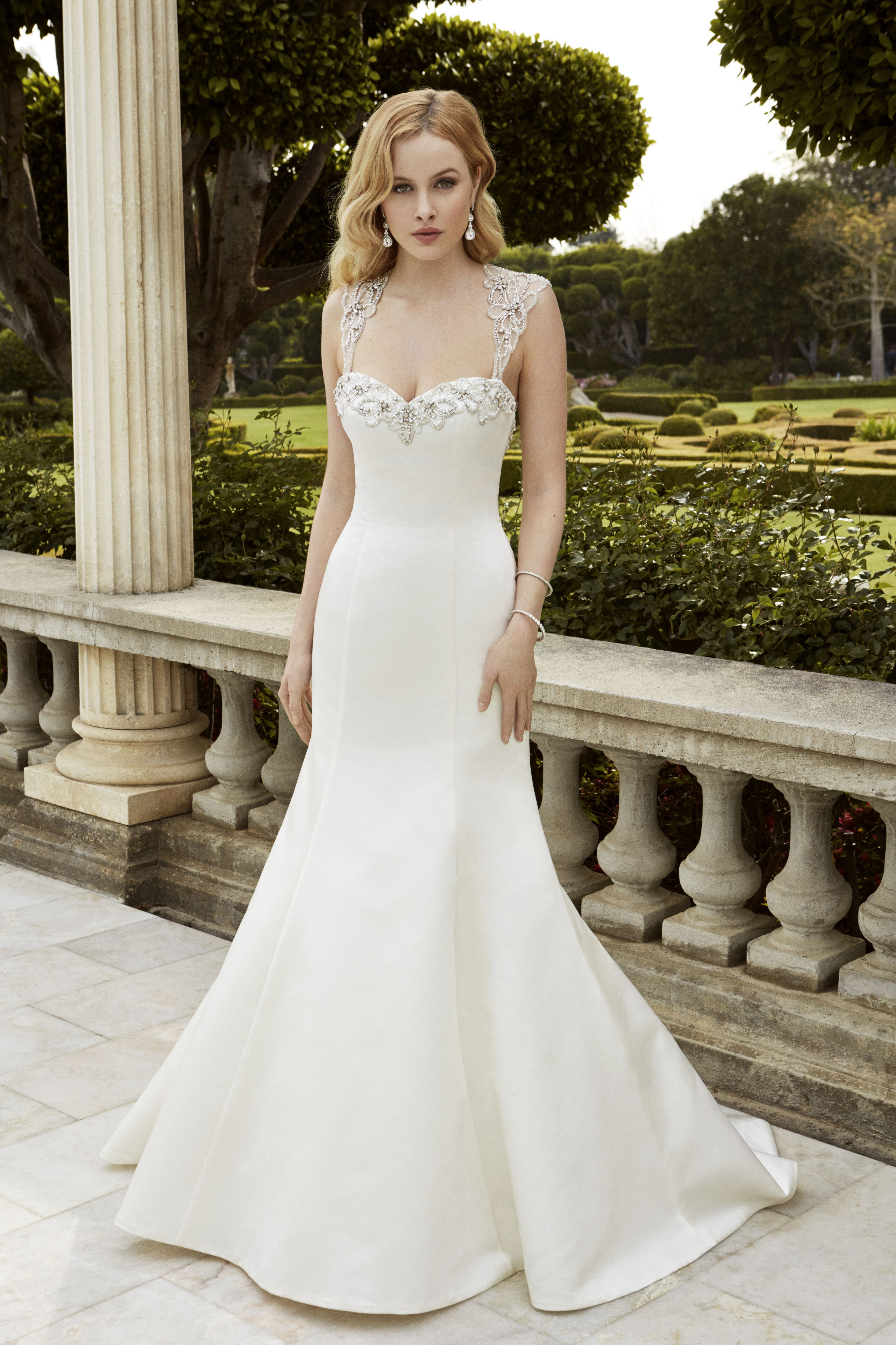 Both timeless and contemporary, this full-length, soft satin mermaid ...