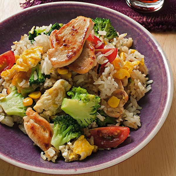 Photo of Fried rice with chicken