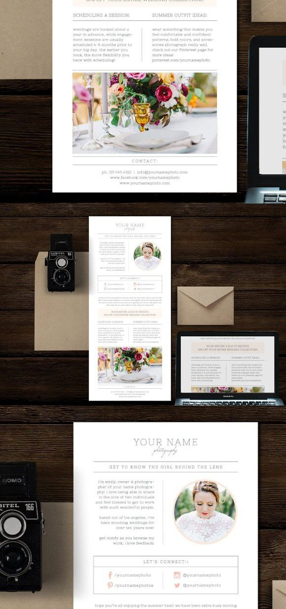 Email Newsletter Photoshop Template Flyer Templates Flyer