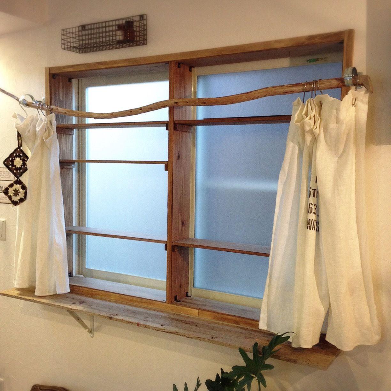 部屋の印象をガラッと変える木製窓枠をdiyしてみた 窓枠 窓枠diy