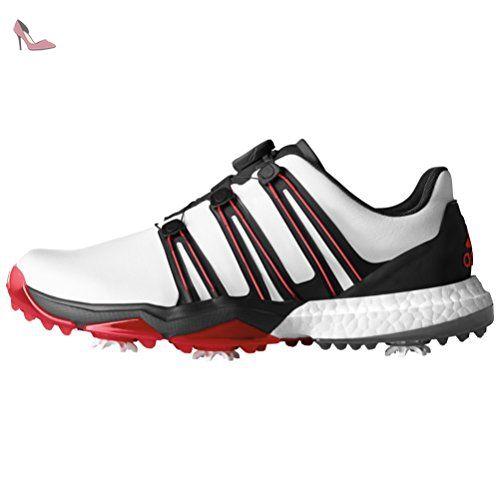Adidas pour homme Pwrband Boa Boost Ftwwht pour chaussures de golf ...