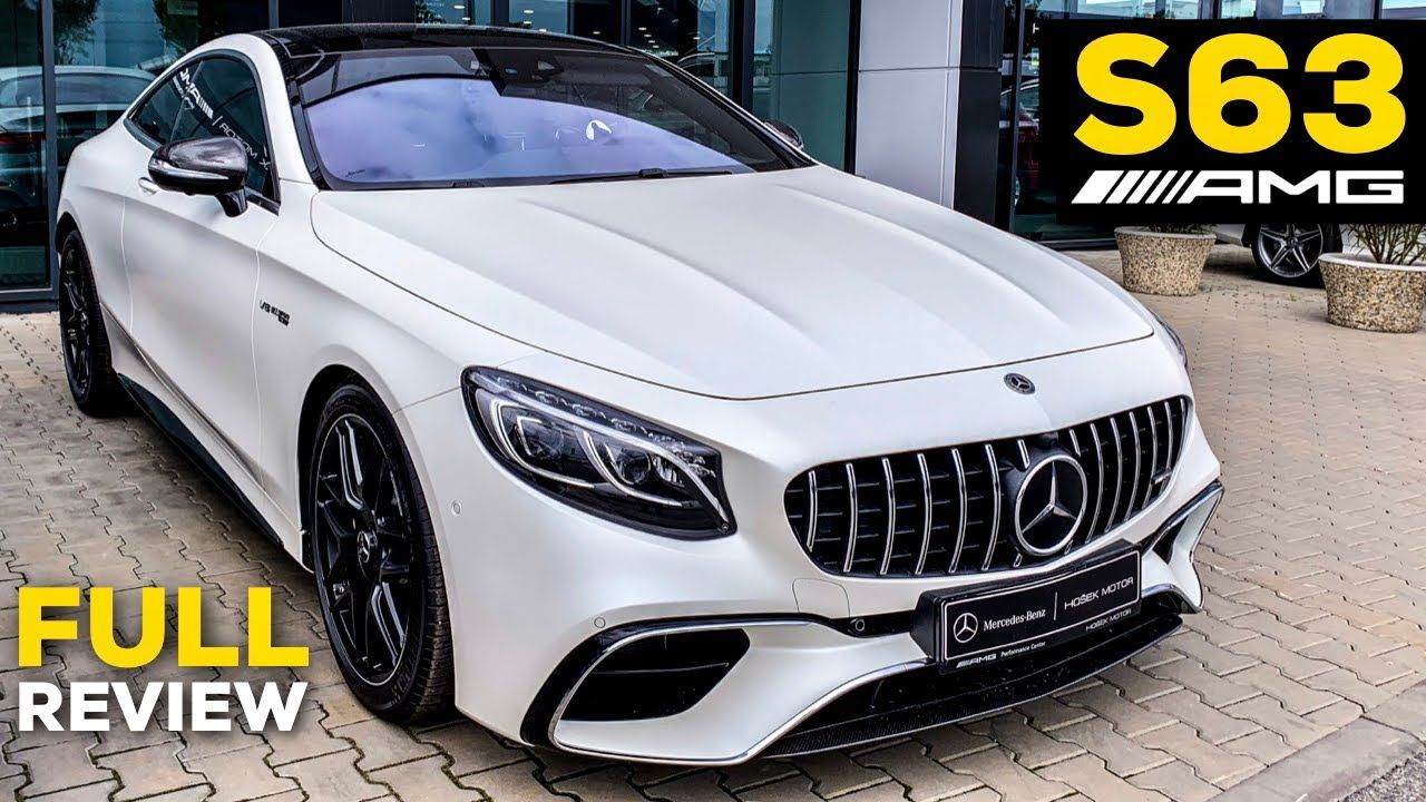 2019 MERCEDES AMG S63 Coupé V8 Full Review BRUTAL Sound