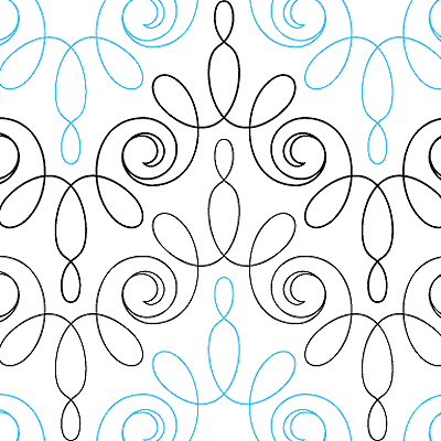 Modern Lace - quilting pattern