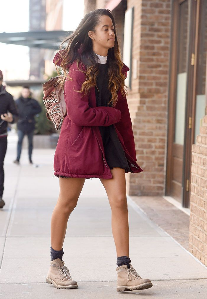 Malia Obama Wears These Boots to Her