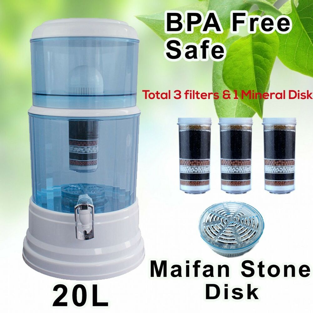 Aimex Water Purifier 7 8 Stage Water Filter Ceramic Bpa Free Plus 2 Filter 20l Aimex In 2020 Water Purifier Water Filter Purifier