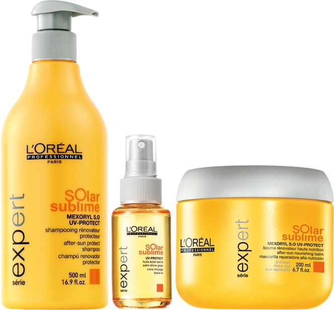 Лореаль защита от солнца для волос