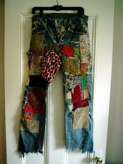 Ah-Clem's Wanderings: The Patched Pants