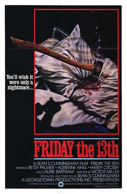 Retro Horror Movie Posters Friday The 13th Poster Horror Movie Posters Retro Horror