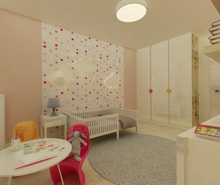 Kinderzimmer Wandgestaltung 50 Ideen Mit Farbe, Tapete