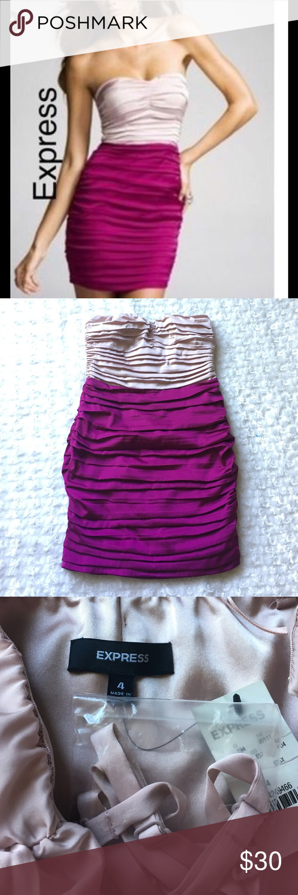 Express Ruched Cocktail Dress   Satin material, Express dresses and ...