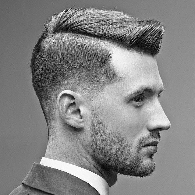Klassische Fade Frisur Mit Bildern Haarschnitt Manner