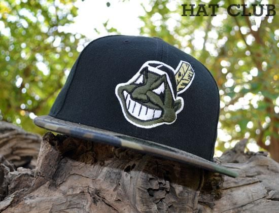 Custom Cleveland Indians 59Fifty Fitted Cap by NEW ERA x MLB