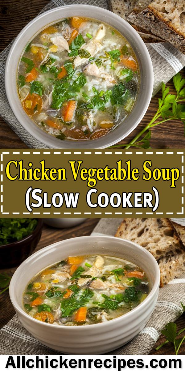 Chicken Vegetable Soup Best Chicken Vegetable Soup Recipe Ever Recipe In 2020 Vegetable Soup With Chicken Chicken Vegetable Soup Crockpot Homemade Chicken Vegetable Soup