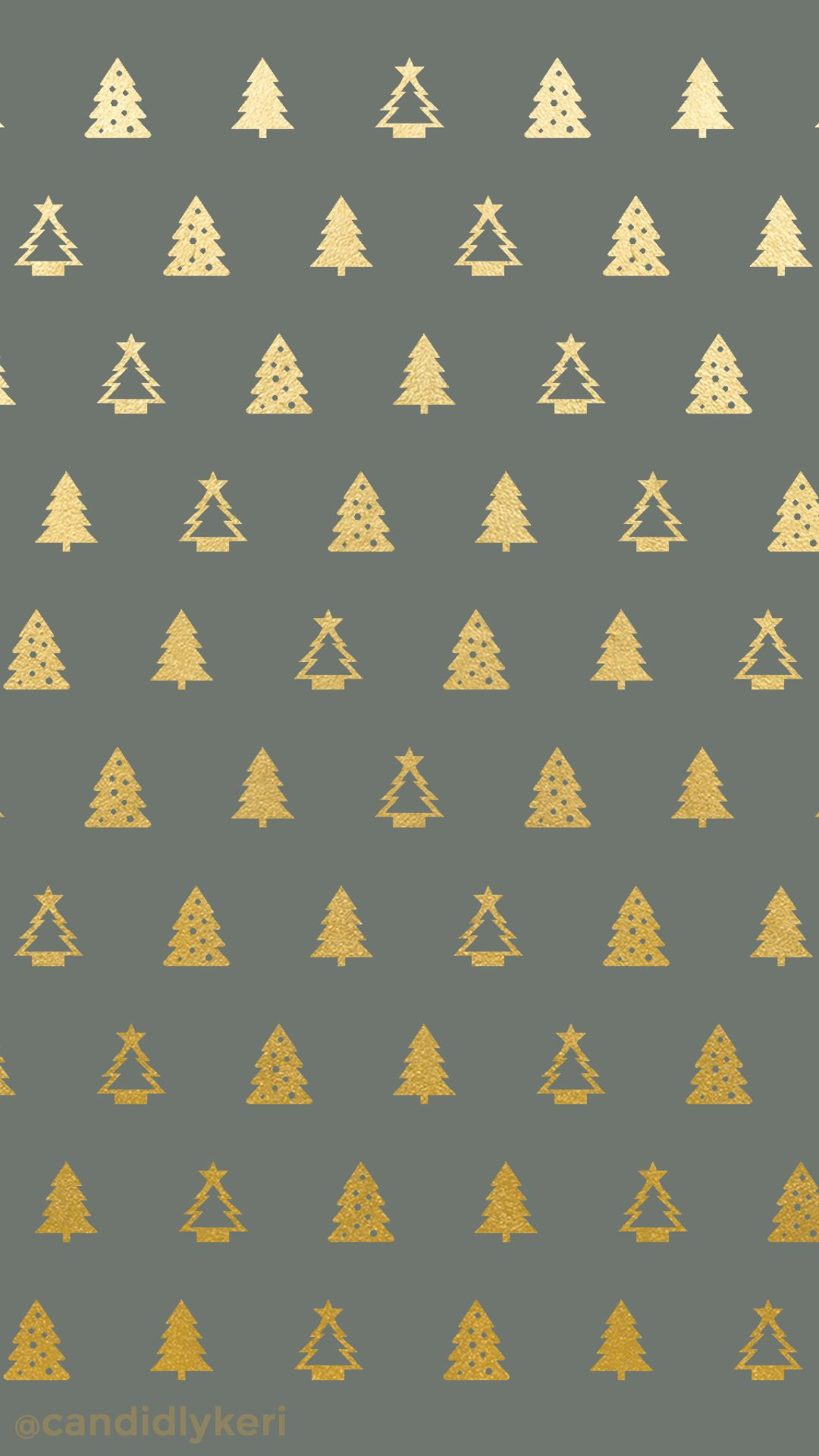 Christmas tree gold foil green background wallpaper you can
