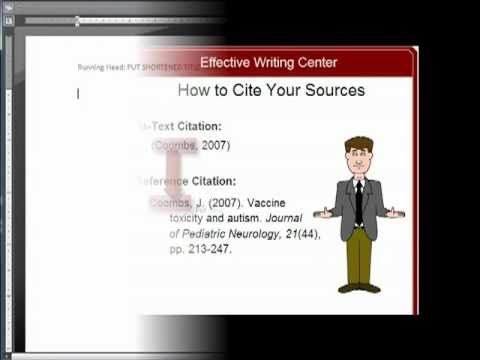 Apa Research Paper Apa Format And Apa Citations Made Easy  I