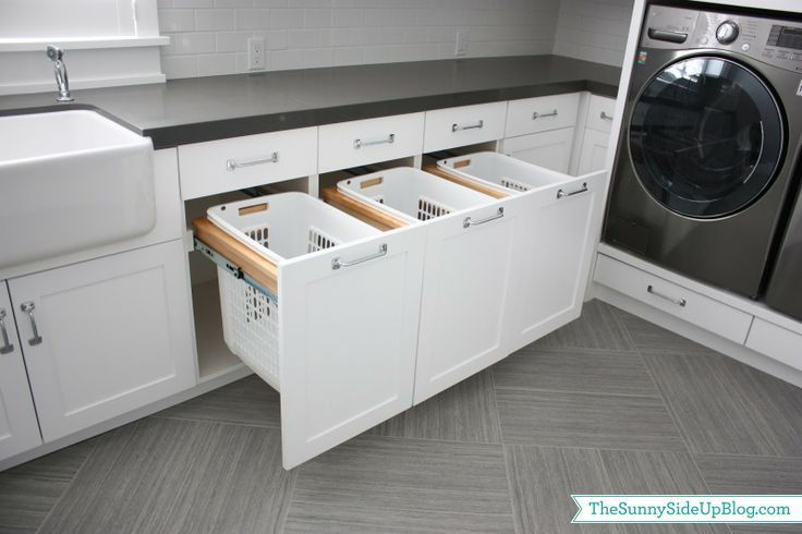 Vertical Laundry Bins Sorters Built In Laundry Sorter Laundry