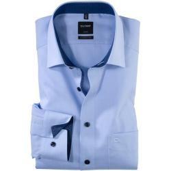 Photo of Olymp Luxor shirt, modern fit, extra long arm, bleu, 46 olympymp