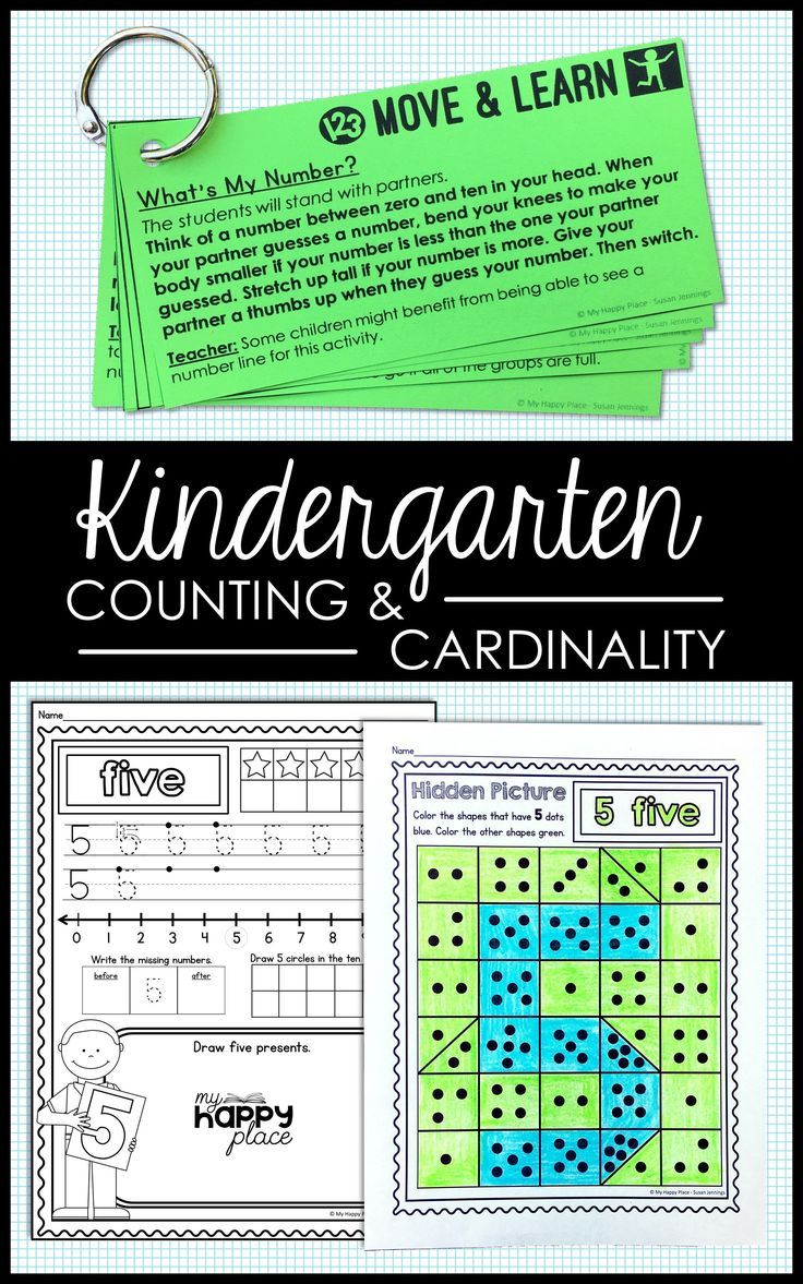 Counting and Cardinality Numbers 110 Teaching