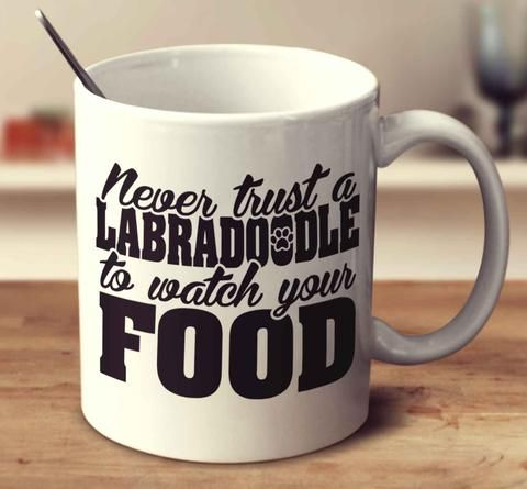 Labradoodle Mugs | Never trust, Trust, Boerboel