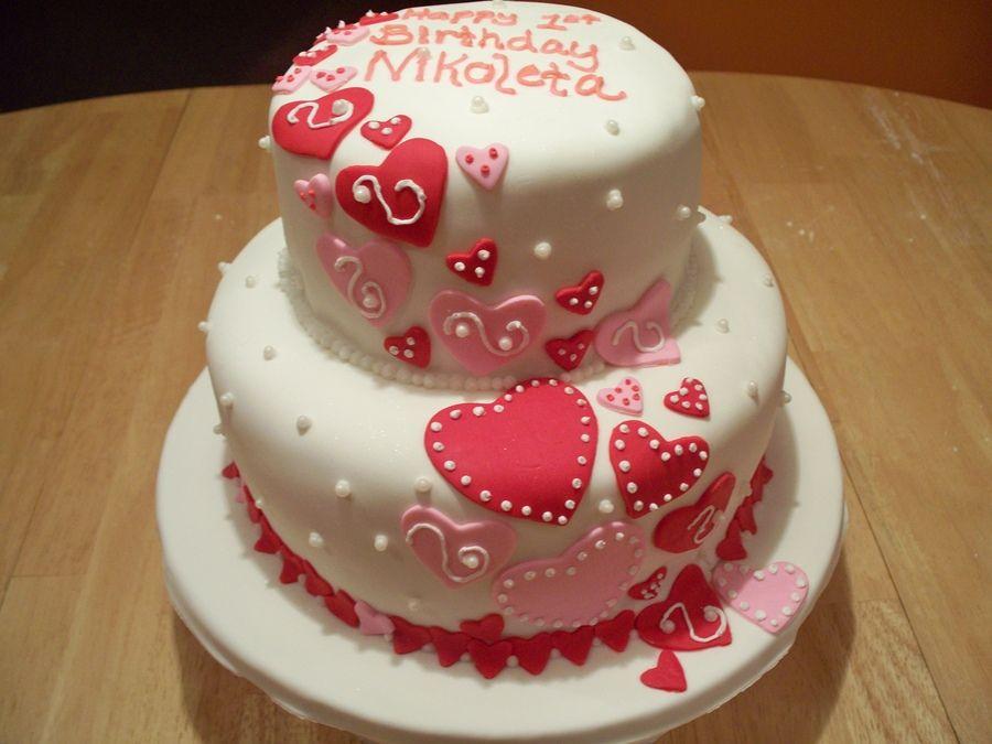 Es cake Es Bday ideas Pinterest Cake Heart cakes and Birthdays